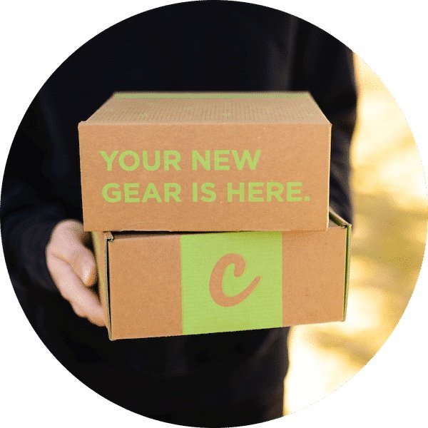 person holding a cannabox subscription box