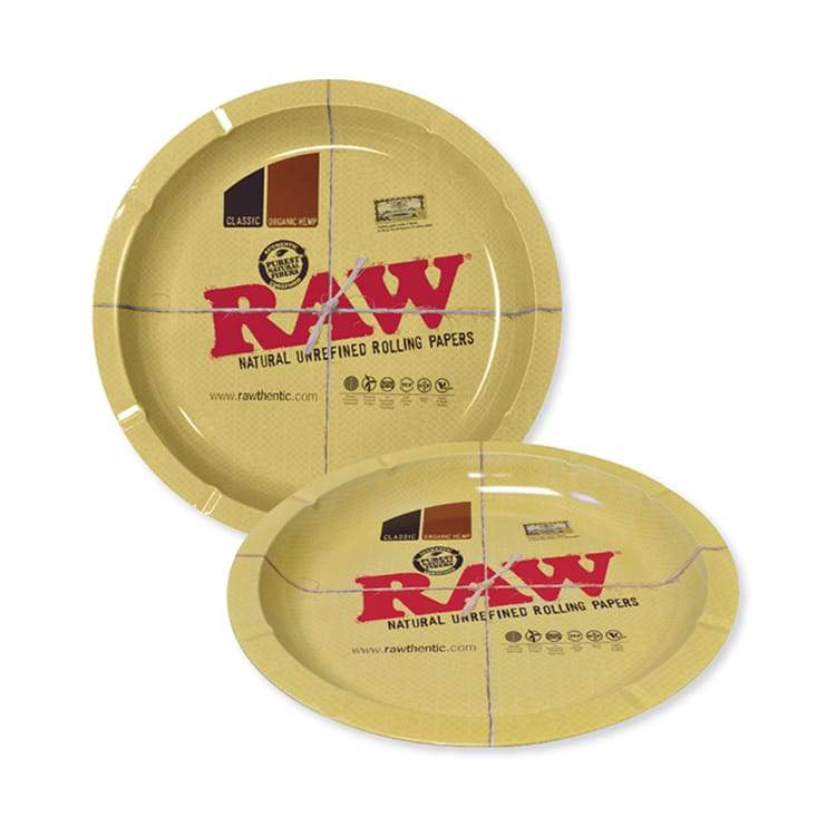 Cannabox Raw Round Rolling Tray