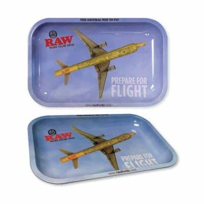Cannabox Raw Flying Rolling Tray