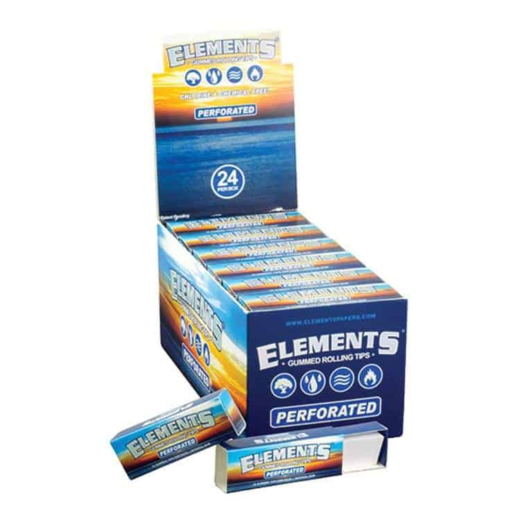 Cannabox Elements Gummed Rolling Tips