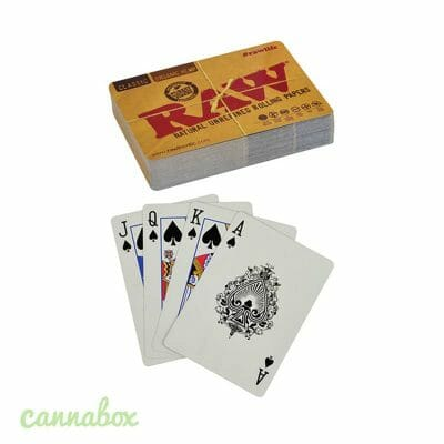 Cannabox Raw Playing Cards