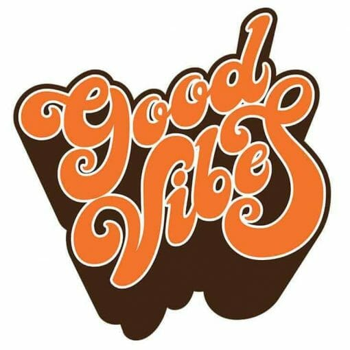 Cannabox Good Vibes Sticker