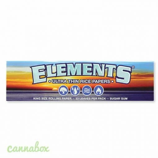 Cannabox Elements Rolling Papers King Size