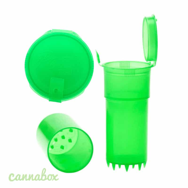 Cannabox Plastic Grinder Storage