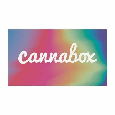 Cannabox June 2019 Logo Sticker
