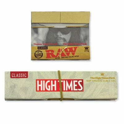 Raw High Times Rolling Papers