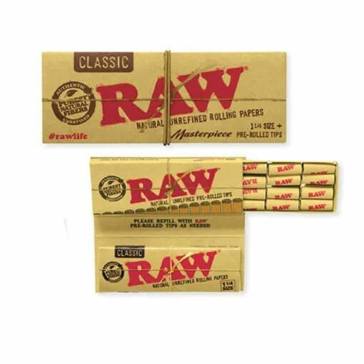 Raw Rolling Papers with Tips