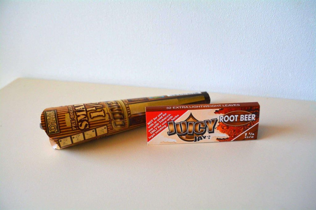 Juicy Jay Root Beer Flavored Papers & The Original Cones - Cannabox Papers (Pictured)