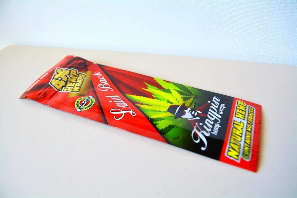 "Kingpin ""Laid Back"" Hemp Wraps  - Cannabox Wraps (Pictured)"