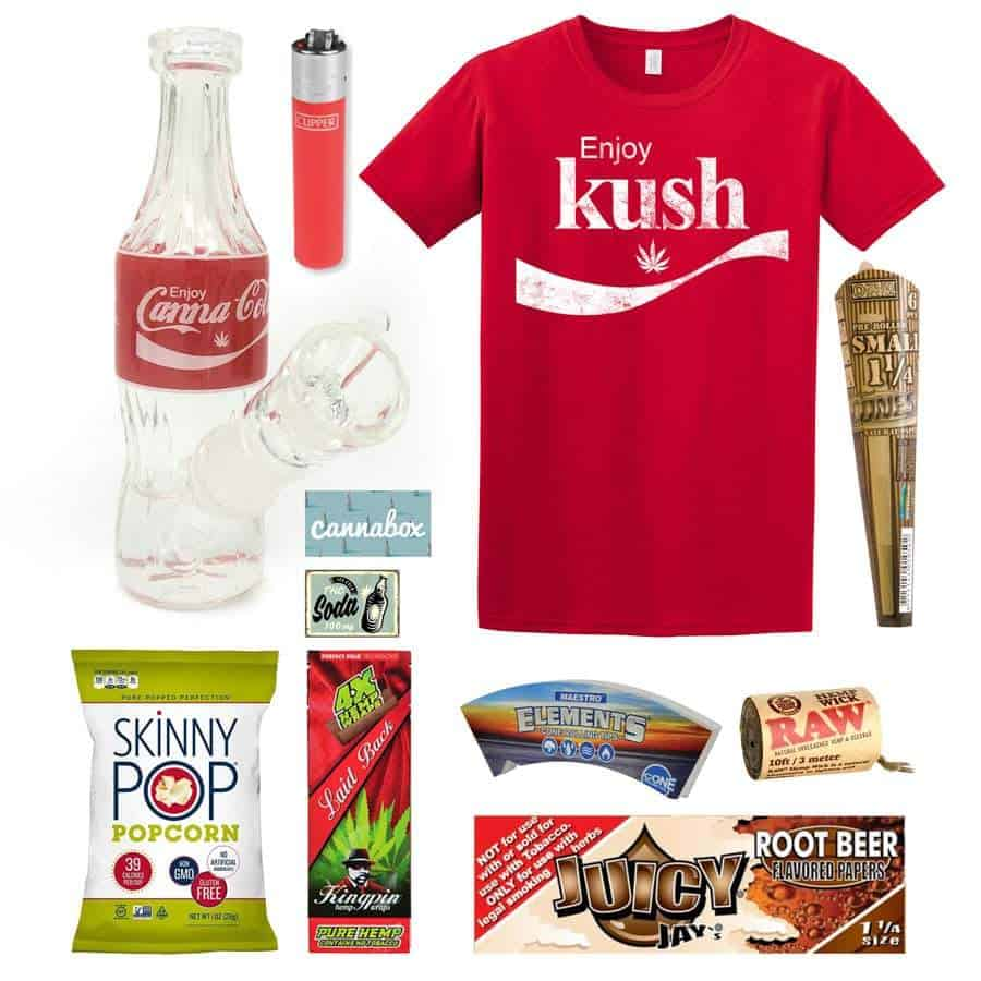 Cannabox August 2019 Soda Shop
