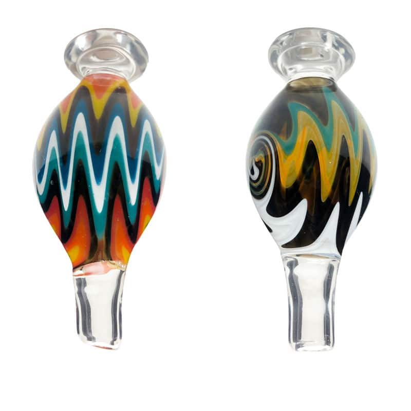 Swirl Bubble Carb Cap