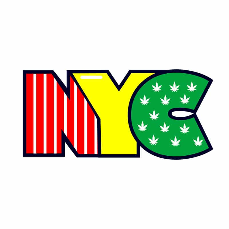 Cannabox NYC Rasta Sticker