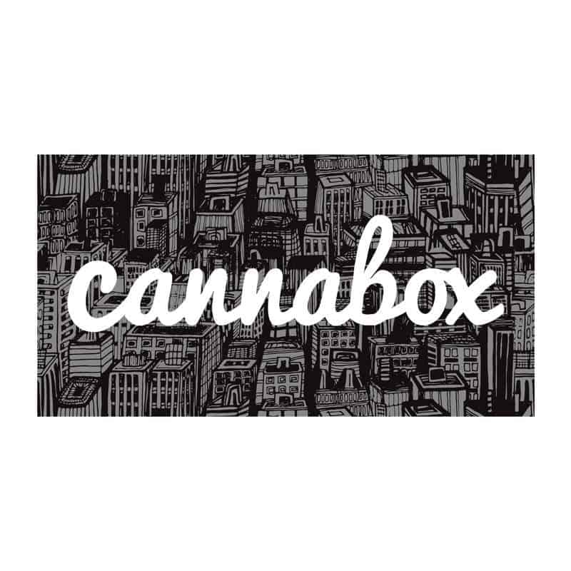 Cannabox September 2019 Logo Sticker