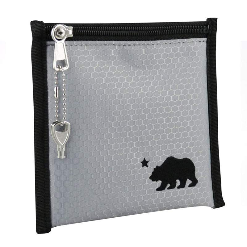 Cali Crusher Smell Proof Pouch Grey