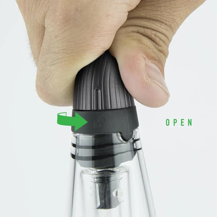 Puffco Peak Pro Travel Glass Open