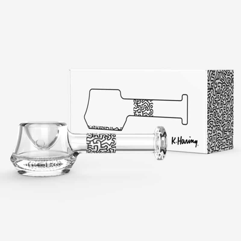 Keith Haring Spoon Pipe White Box