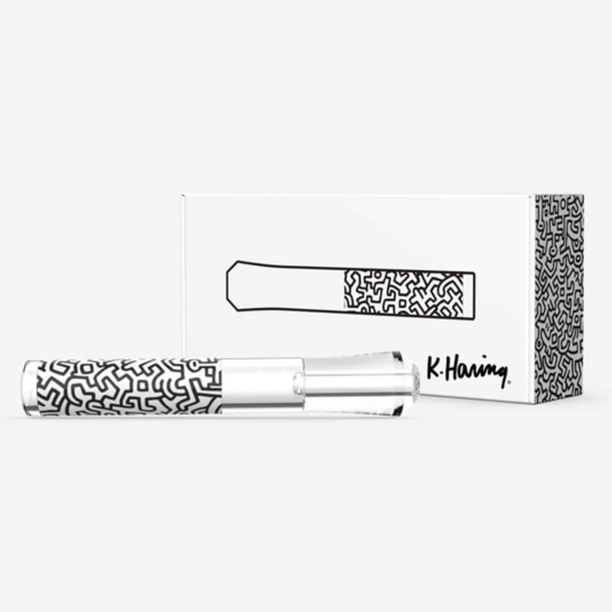 Keith Haring Tester White Box