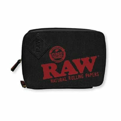 RAW Trap Pack Smell Proof Bag Front
