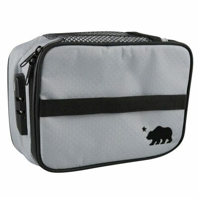 Cali Crusher Smell Proof Bag Silver