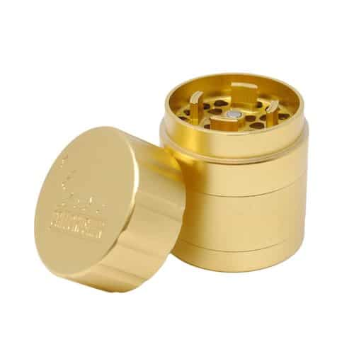 "Cali Crusher 1.85"" Grinder Gold"