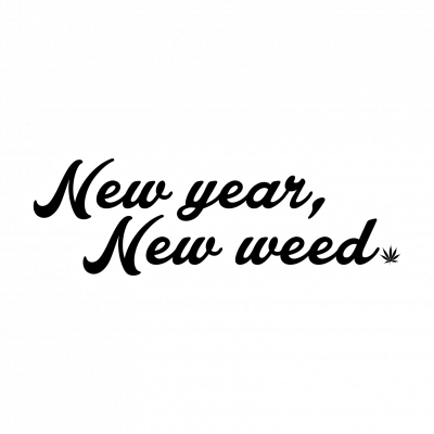 Cannabox January 2020 New Year Sticker