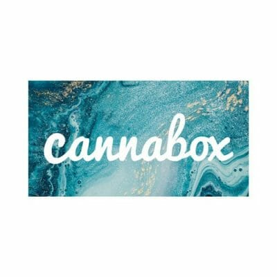 Cannabox January 2020 Logo Sticker