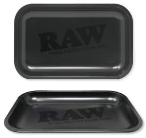 RAW Matte Black Rolling Tray
