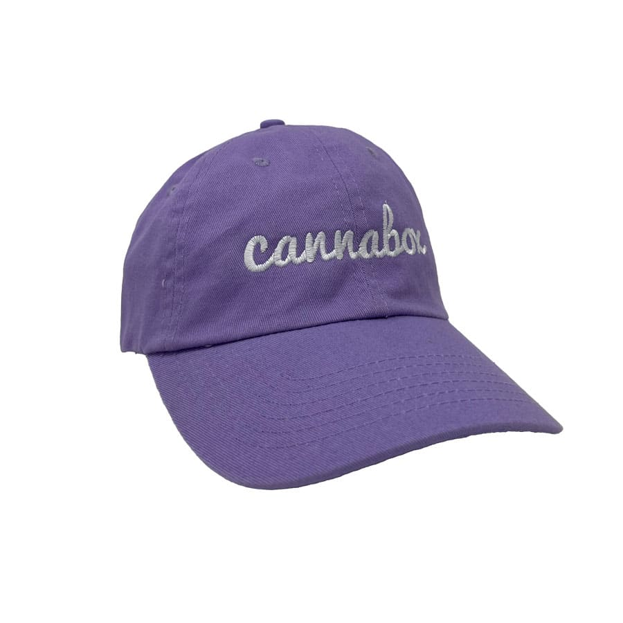 Cannabox Dad Hat Lavender