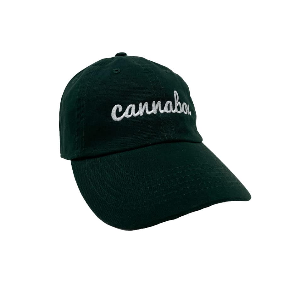 Cannabox Dad Hat Forest Green