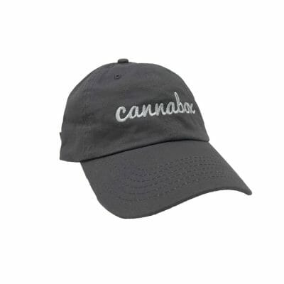 Cannabox Dad Hat Grey