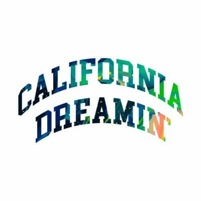 Cannabox California Dreamin' Sticker