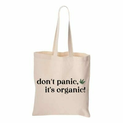 Cannabox Don't Panic Canvas Tote Bag