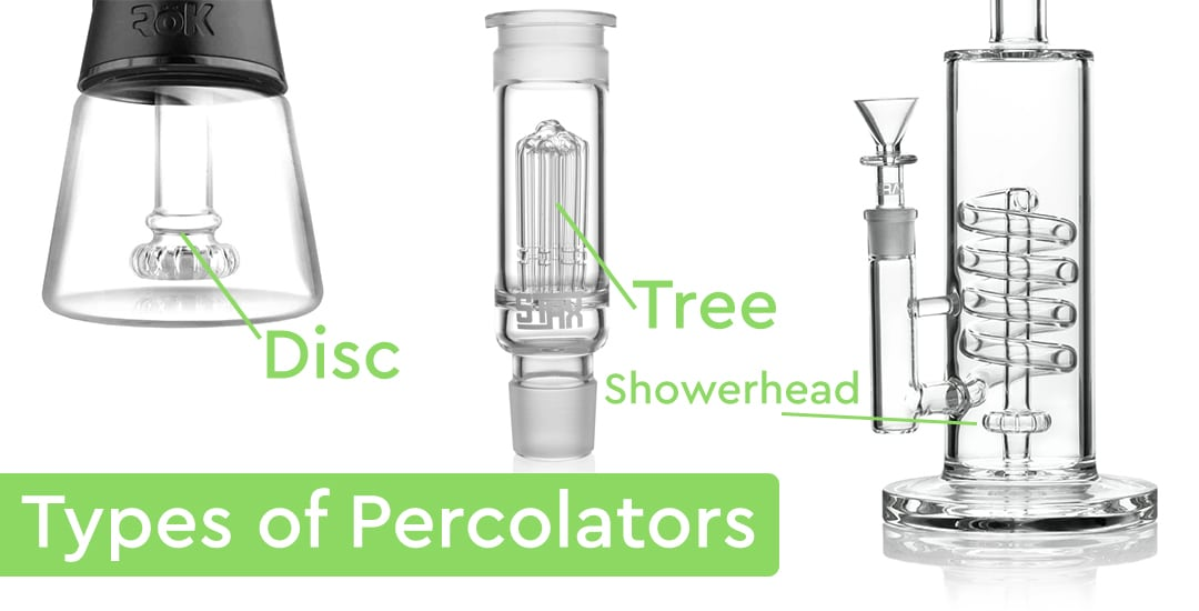 types of percolators