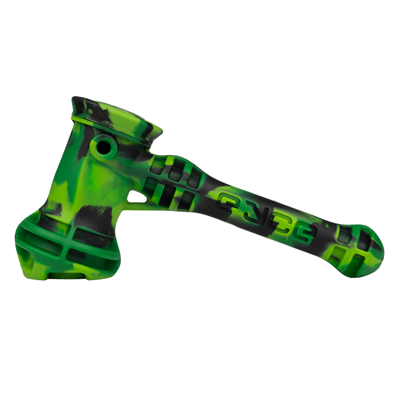 green silicone bubbler for sale