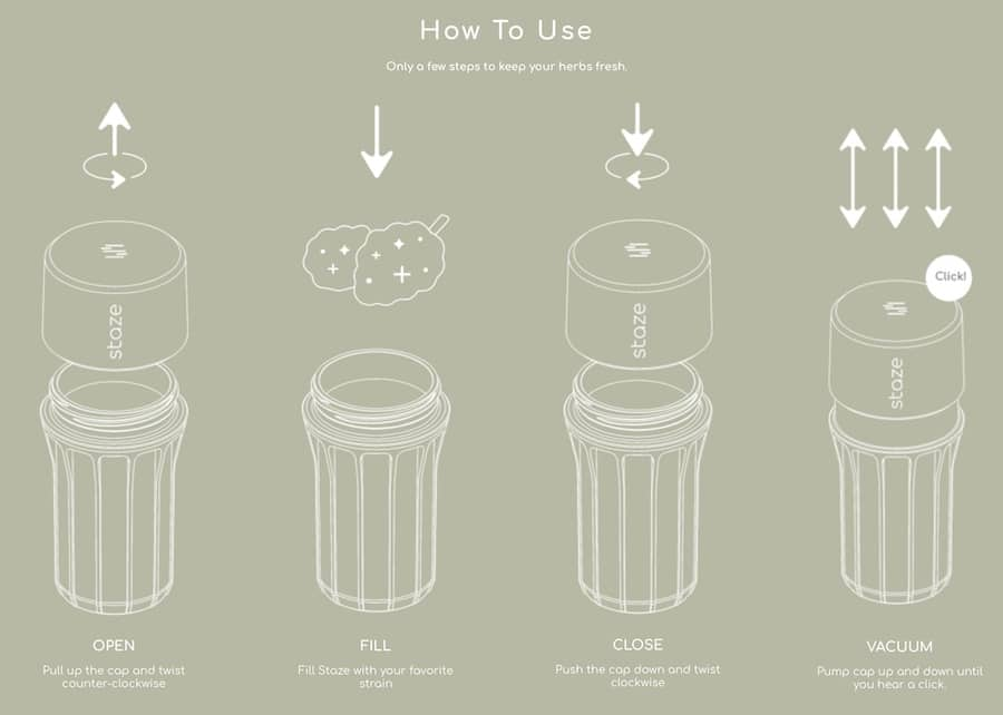 Staze Smell Proof Container How To