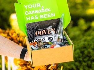 Cannabox October 2021 Coven Unboxing